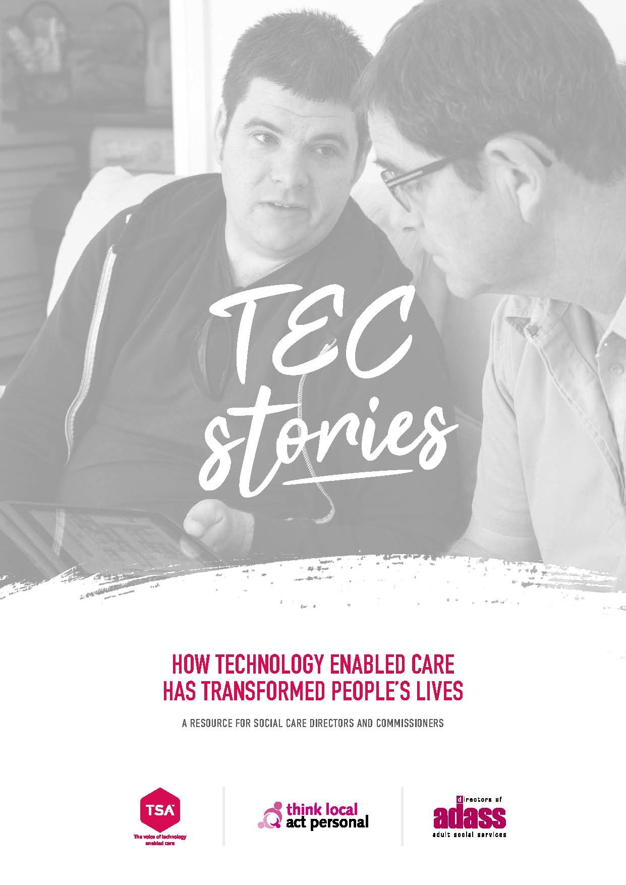 Brochure cover from TEC stories