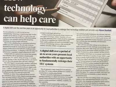 How Technology Can Help Care